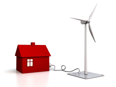By installing a residential wind turbine you can generate