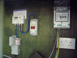 temporary electrical supply